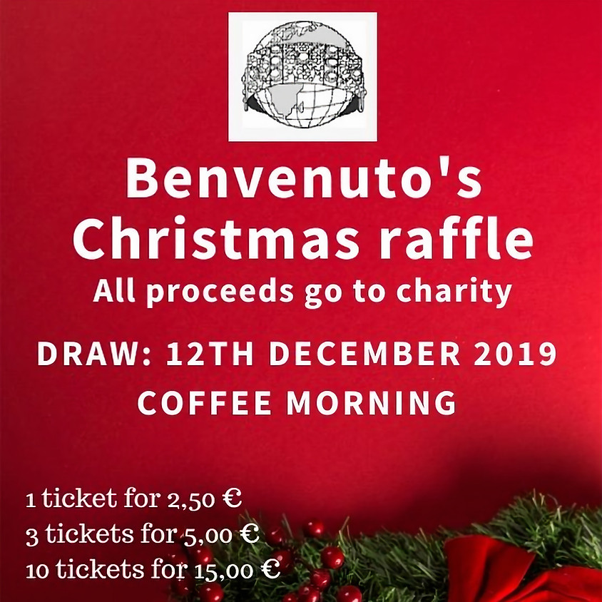 Coffee Morning December with raffle