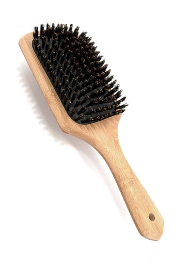 surface bamboo paddle brush