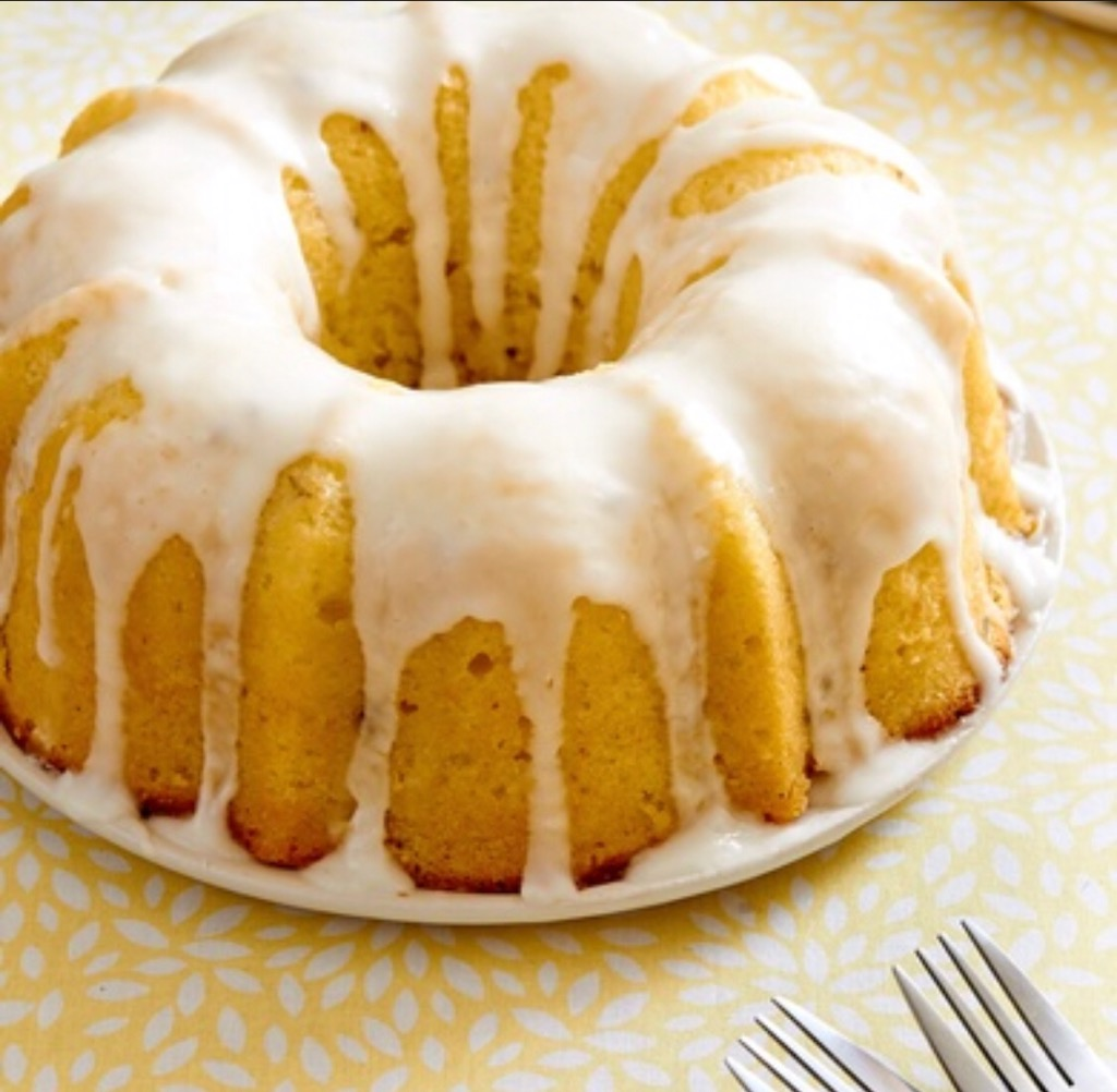 RLB Triple Lemon Velvet Bundt