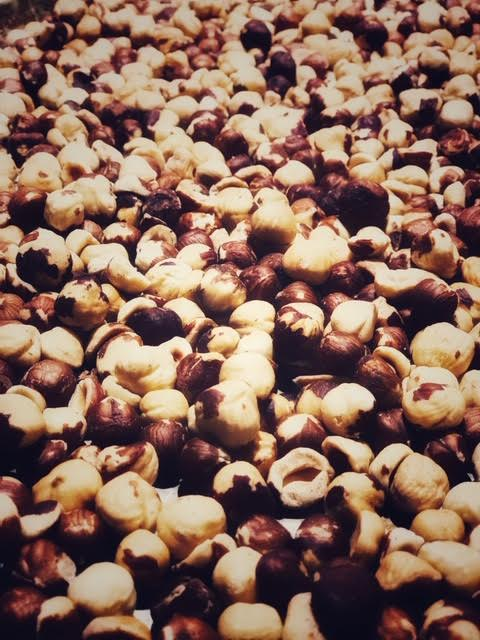 Hazelnuts for Flourless Chocolate Torte.