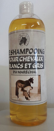 Shampoing chevaux clairs
