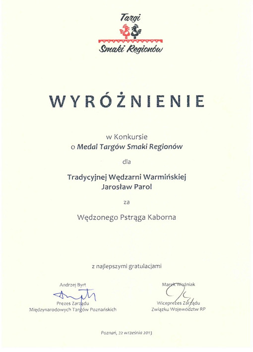 Targi - Smaki Regionów 2013
