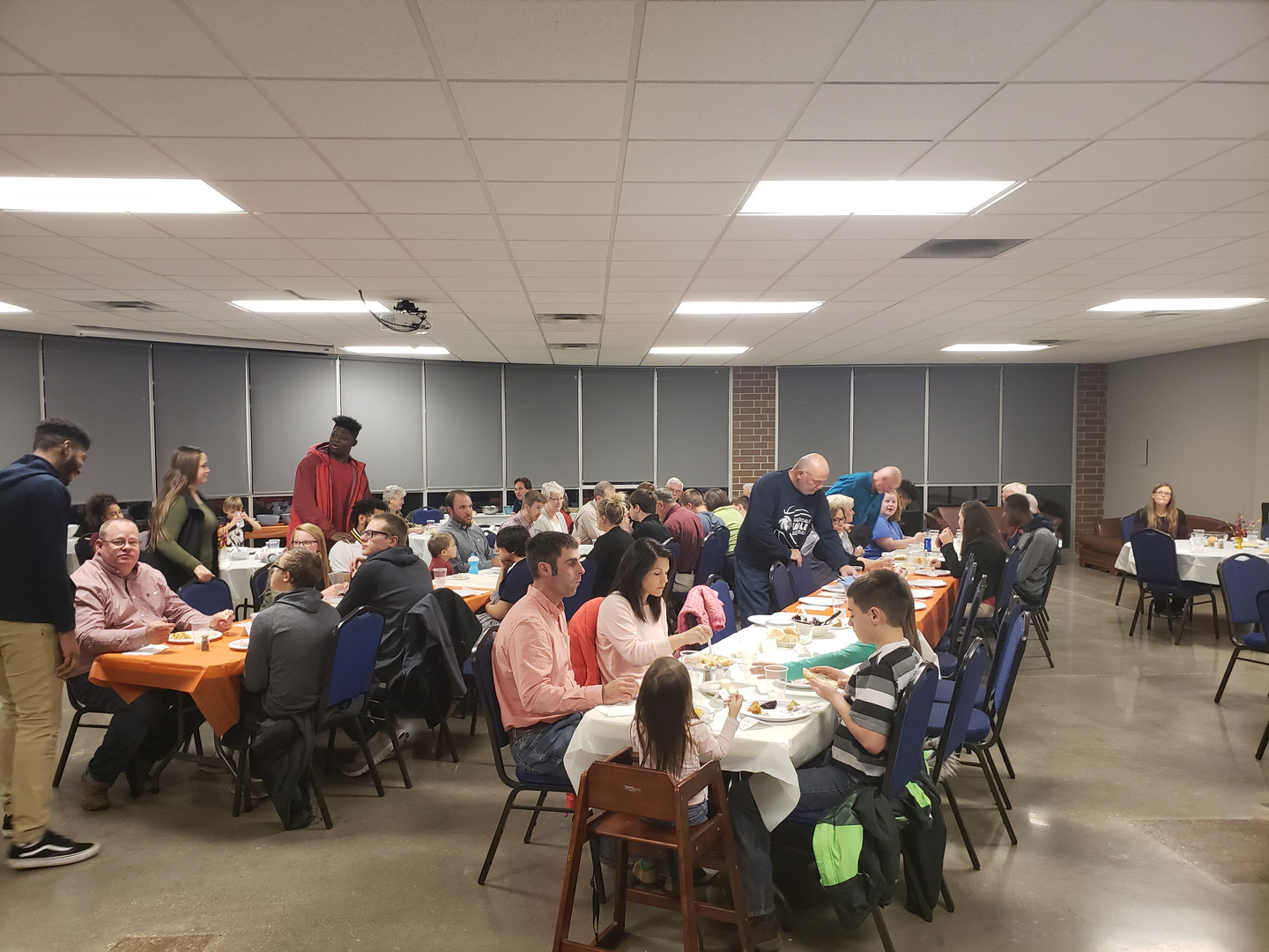 Thanksgiving meal with donors - Act.jpg