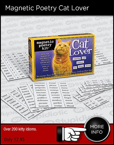 Magnetic Poetry Cat Lover Kit
