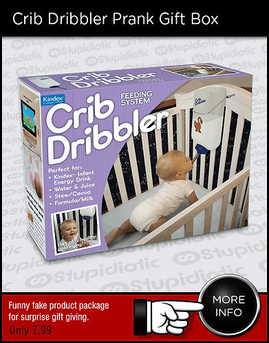 Baby Crib Feeding System Prank Box