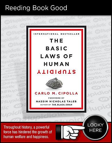 Basic Laws of Human Stupidity Book