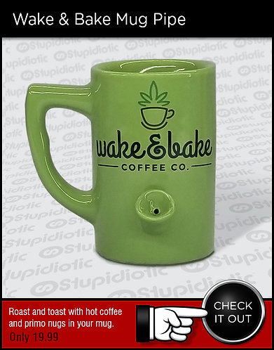 Wake & Bake Mug Pipe