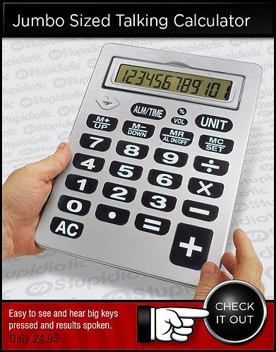 Jumbo Talking Calculator