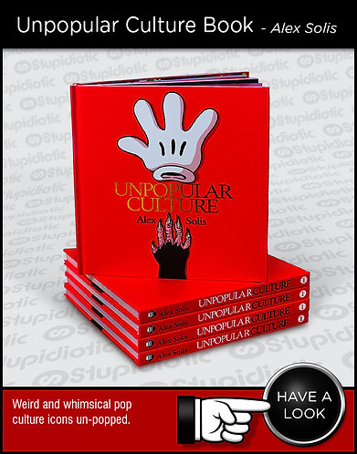 Unpopular Culture Book Deluxe by Alex Solis