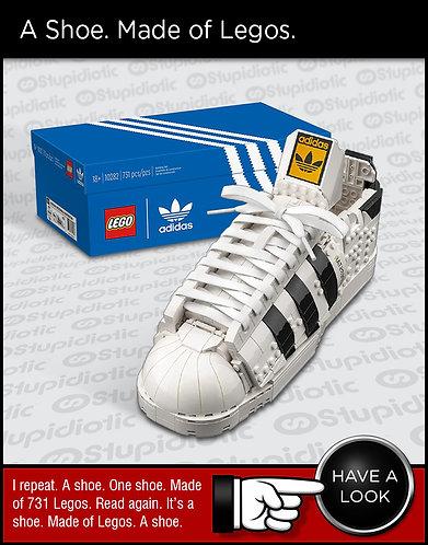 LEGO Adidas Originals Superstar 10282 Building Kit