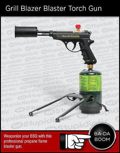 GrillBlazer flamethrower fire blaster Gun