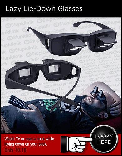 Lazy Lie-Down Glasses