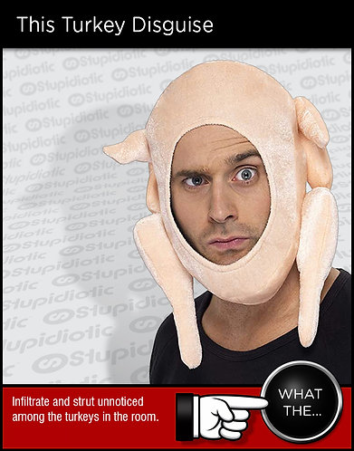 Turkey Head Hoodie Hat