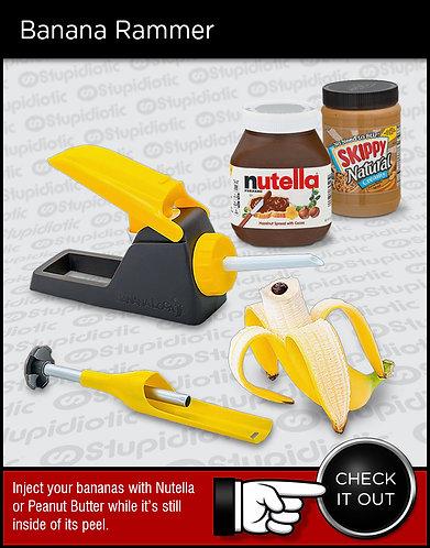 Banana Rammer Injection Machine