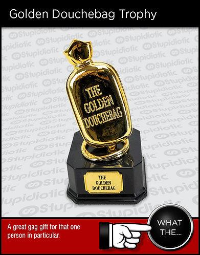 Gag Golden Douchebag Award Trophy