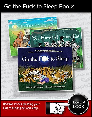 Go the Fuck to Sleep Bedtime Story Book