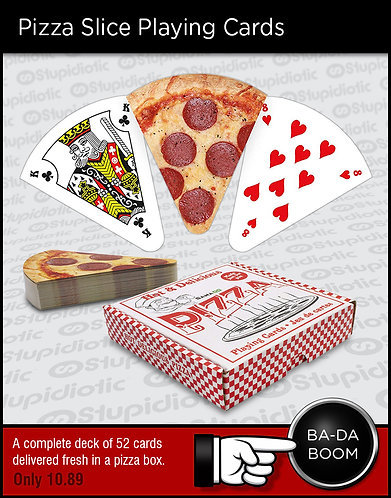 Pizza Slice Playing Cards