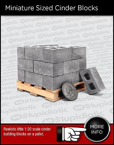 Miniature Cinder Blocks