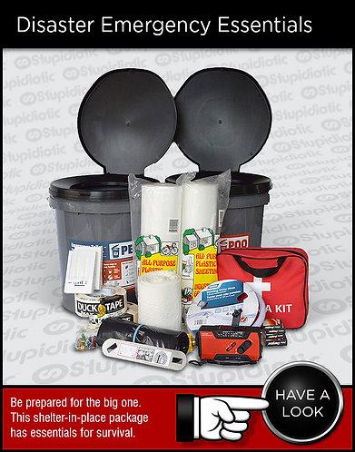 Disaster Emergency Earthquake Essentials