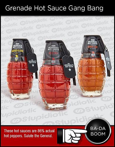 The General's Hot Sauce Grenade Gang Bang