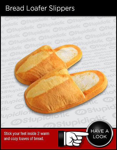 Bread loaf foam slippers