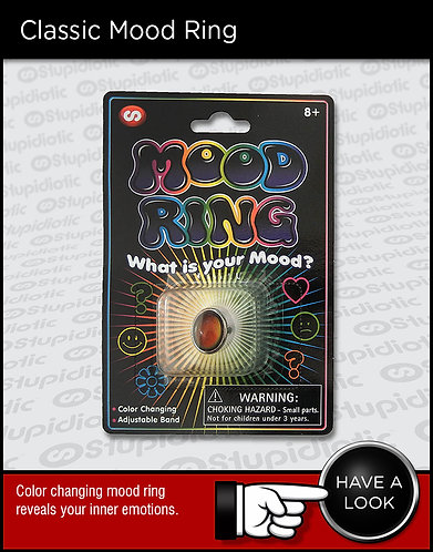 Mood ring jewelry color-changing