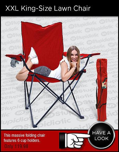 XXL King-Size Lawn Chair