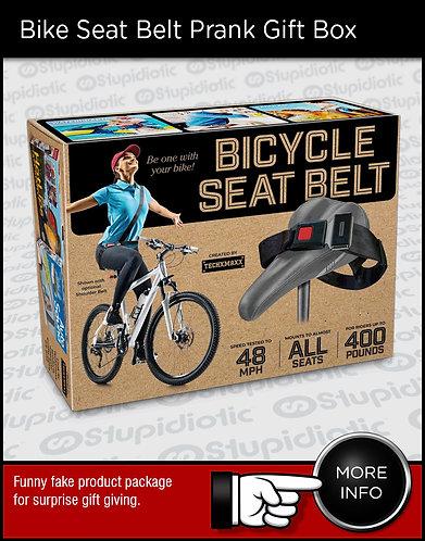 Bicycle Seat Belt Prank Gift Box