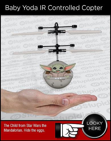 Star Wars The Mandalorian Baby Yoda Infrared Copter