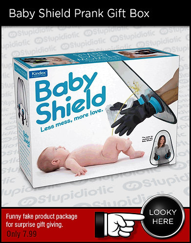 Baby Defense Shield Prank Gift Box