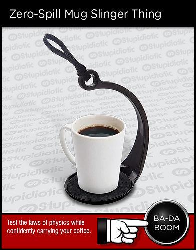 Spill Not Anti-Gravity Zero Spill Mug Carry Sling