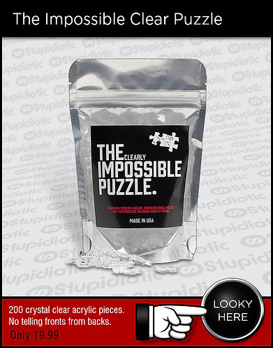 The Impossible Clear Puzzle Challenge