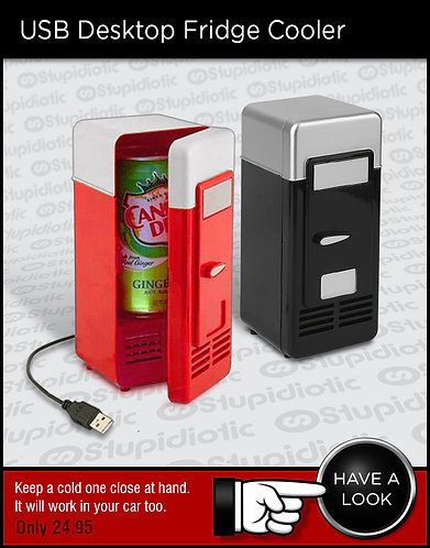 USB Desktop Fridge Cooler