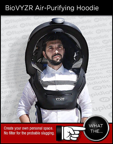 BioVYZR Personal Air-Purifying Chamber Hoodie