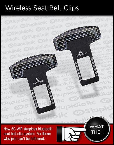Wireless Bluetooth 5G Seat Belt Strap Clips