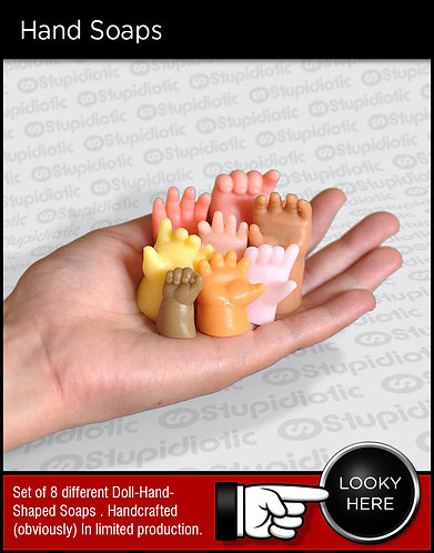 Baby Doll Hand Soaps