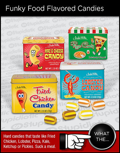 Funky Food Flavored Candy