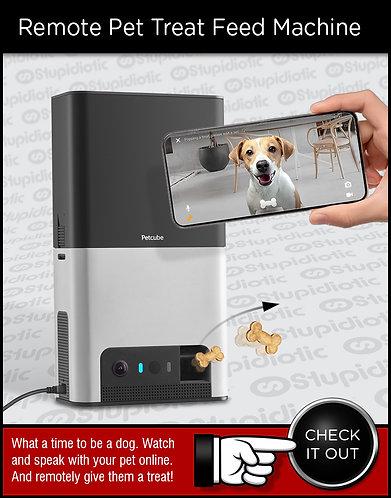 Petcube Bites Interactive WiFi Pet Monitoring Camera Dispenser
