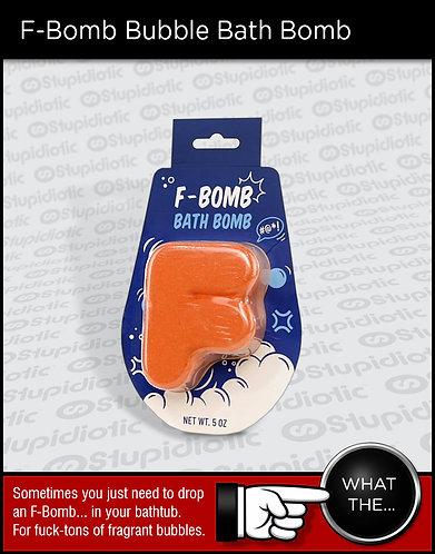 F-Bomb Bubble Bath Bomb