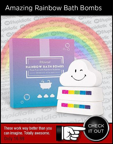 Amazing Rainbow Bath Bomb