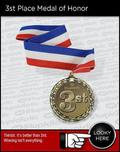 3st Medal Award