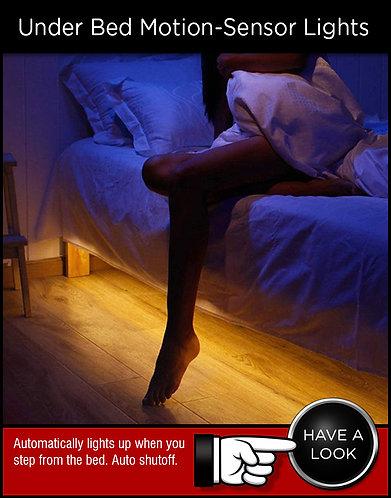 Under Bed Motion Sensor Lighting