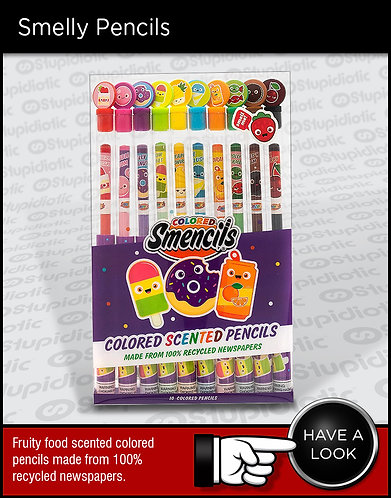 Smelly Scented Smencils Colored Pencils