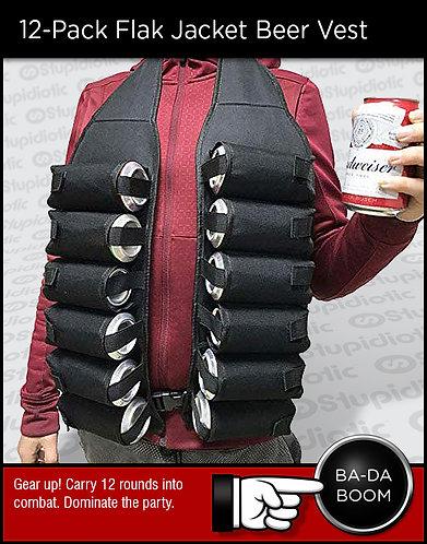 12-Pack Flak Jacket Beer Vest