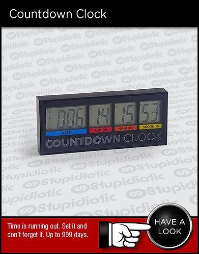 digital countdown alarm clock timer