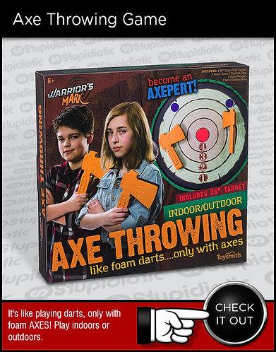 Foam Axe Throwing Dart Board Game