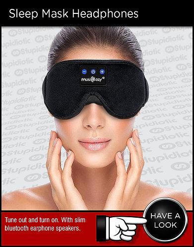 Sleep Mask Bluetooth Headphones