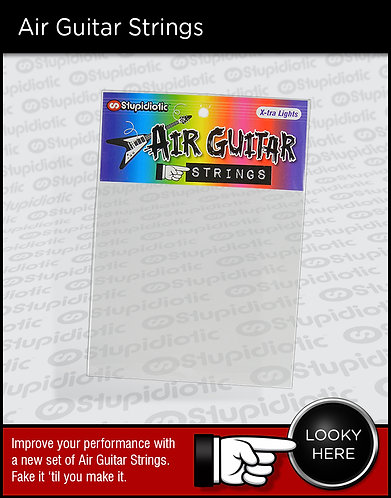 Air Guitar Strings