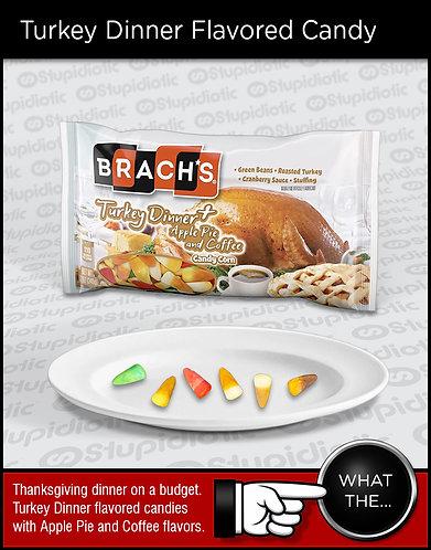 Brach's Turkey Dinner Flavored Candy Corn Apple Pie Coffee