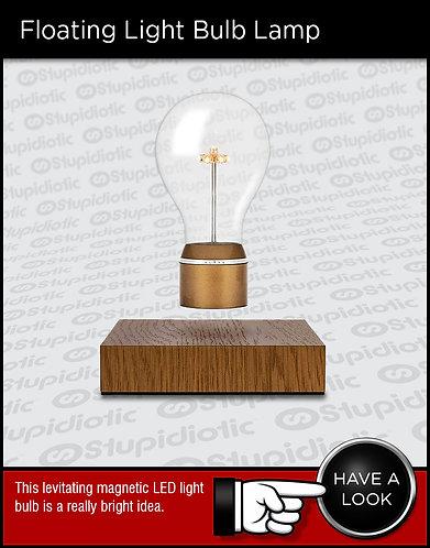 Flyte Levitating Floating Light Bulb Lamp